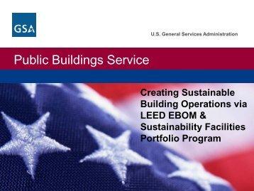 Public Buildings Service - E2S2