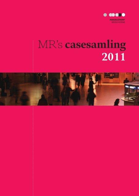 MR's casesamling 2011 (pdf) - DI