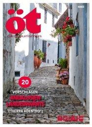 Ökotourismus 03. Andalusien Landeinwärts