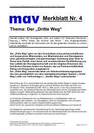 Merkblatt 4 Dritter Weg - Diakonie im Oldenburger Land