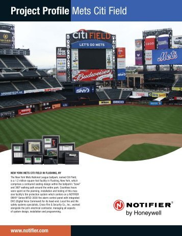 N.Y. Mets Citi Field - Notifier