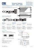 External Adaptor 100W / 150W / 200W - Page 2
