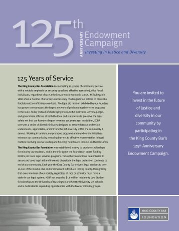 Endowment Campaign Brochure - Kcbf.org