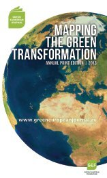 Full Print Edition PDF - Green European Journal