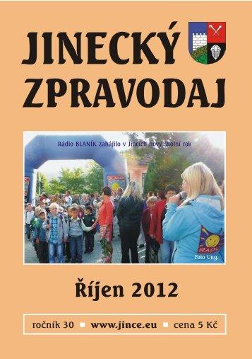 JZ říjen 2012 - Jince