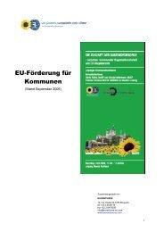 EU-Förderung für Kommunen