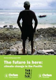 OXF09-56_Pacific Report_V1.indd - Oxfam New Zealand