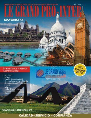 LE GRAND Viajes 2012 - Inicio