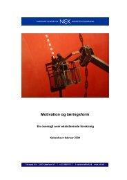 Litteraturstudie, undersøgelse 1.3 februar 2009 - NCK - Aarhus ...