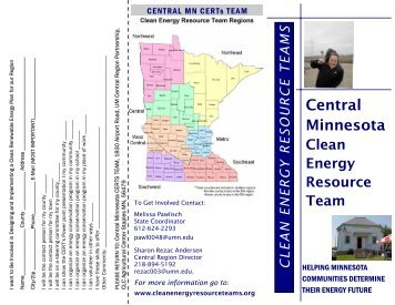 Central CERTs Brochure - Clean Energy Resource Teams