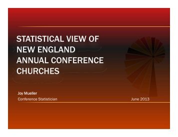 Statistician Slides - New England Conference