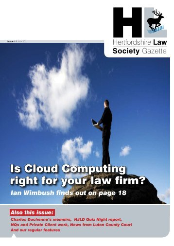 Is Cloud Computing right for your law firm? - Insite Law Magazine