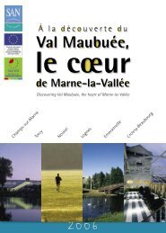 Livre Guide VM>pdf.indb - Agglomération de Marne-la-Vallée / Val ...