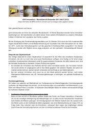 AXA Immoselect – Monatsbericht Dezember 2011 - Buescher-stehr.de