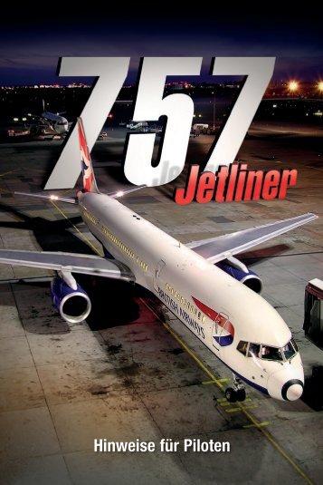 Hinweise für Piloten - Just Flight and Just Trains