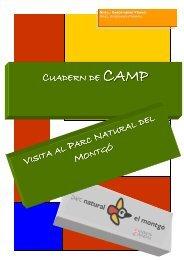 cuaderno adaptado a primaria - Parques Naturales