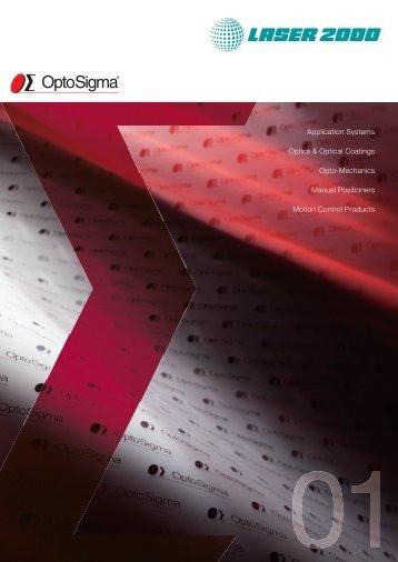 OptoSigma Katalog