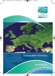 brochure - European Water Partnership