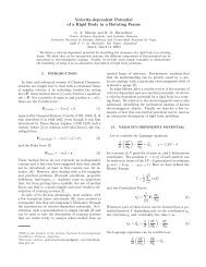 Velocity-dependent Potential of a Rigid Body in a Rotating ... - CNEA