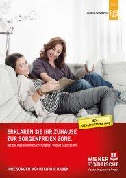 erklÄren Sie ihr ZuhauSe Zur SOrgenfreien ZOne. - Wiener Städtische