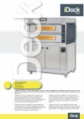 Pizza ovens with electronic control Печи для пиццерии с ... - Page 3