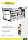 Pizza ovens with electronic control Печи для пиццерии с ... - Page 5