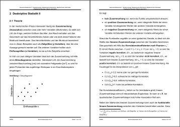 6 Testen, Teil 2: Nominale Daten - Institut für Medizinische ...
