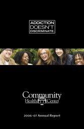 CHC Annual Report 2006-2007 - Community Health Center
