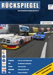 Premiere: GNL: Trucks: Weekend: GPL: - Virtual Racing eV