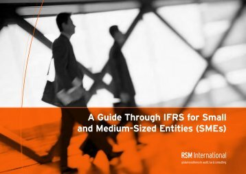 A guide through the business implications of IFRS - RSM Germany