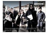 Bilanzpressekonferenz 2008/2009 - SinnerSchrader AG