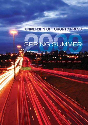 Spring/Summer 2009 - University of Toronto Press Publishing