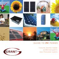 Solar PV Systems - Howarth Timber