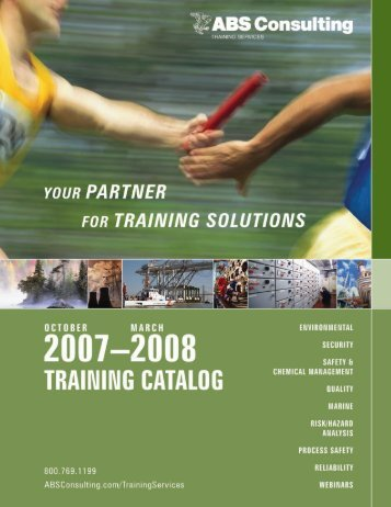View the Catalog - ABS Consulting