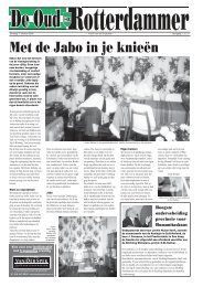 Jaargang 2, nr 21, week 42 - De Oud Rotterdammer