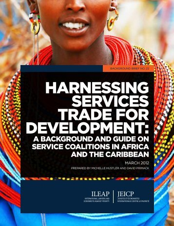 Harnessing Services Trade for Development: A Background ... - ILEAP