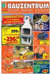 BAUSTOFFE · BAUMARKT - Gebrüder Roth