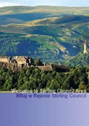 ImmIgratIon control - Albert Halls - Stirling Council