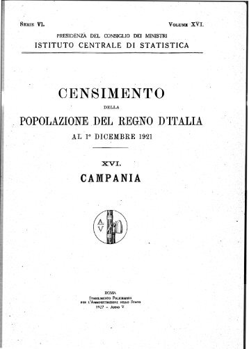 CENSIMENTO - Istat