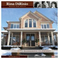 2193 Glengrove Crescent - Rina DiRisio