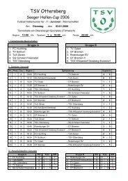 Turnier1 - TSV Ottersberg e. V.
