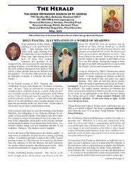The Herald - Greek Orthodox Church of St. George