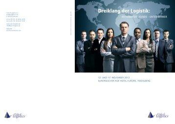 Dreiklang der Logistik: - Club of Logistics