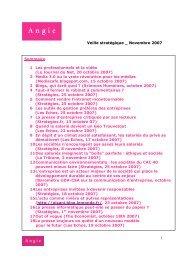 Le Journal du Net, 20 octobre 2007 - Le blog de l'agence Angie