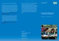 Pre-Study course - COME - Technische Universität München