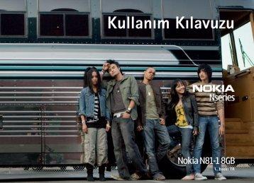 Kullanım Kılavuzu - Nokia