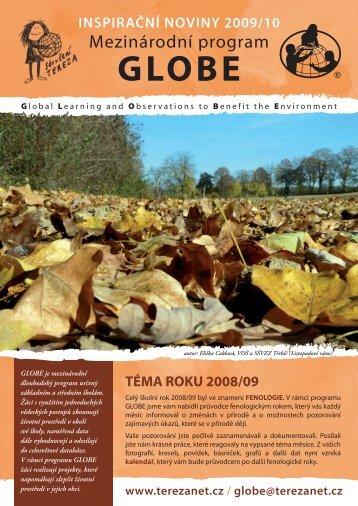 Inspirační noviny 2009 - Co je GLOBE - Sdružení TEREZA