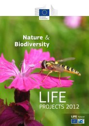 LIFE+ Nature & Biodiversity Projects 2011 - European Commission