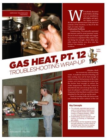 gas heat - Cleaner Times Magazine