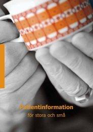 Patientinformation - Jämtlands läns landsting